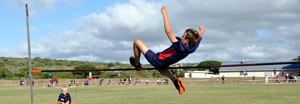 Hoogspring sport aktiviteite | Bertie Barnard - Stilbaai